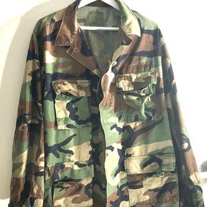 Army VINTAGE Camouflage Blazer